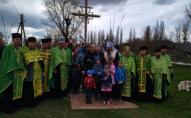 Під Луцьком священник Московського Патріархату «переосвятив» новий придорожній хрест