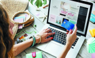 За зростанням прибутків від онлайн-шопінгу Україна посіла 6 місце в світі