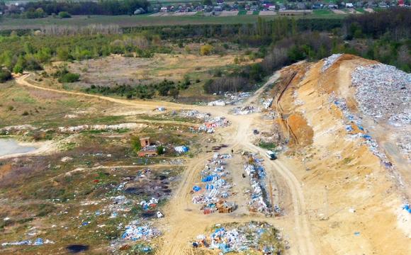 У Луцьку розширять територію сміттєзвалища. ФОТО