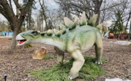 У Рівному відкрили парк роботизованих динозаврів. ФОТО