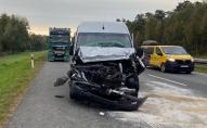 Автобус з українцями у Польщі потрапив у ДТП, є потерпілі. ФОТО