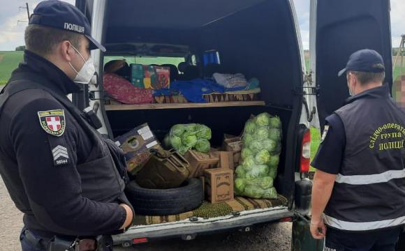 Поліція затримала волинського контрабандиста. ФОТО