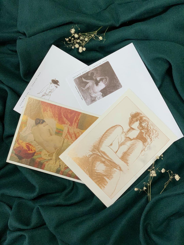 У стилі «ню»: «Укрпошта» до 8 березня випустить пікантні марки. ФОТО