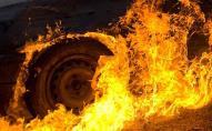 У селі неподалік Луцька вночі згорів автомобіль