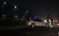 На трасі «Луцьк-Рівне» Тесла в'їхала в Рено