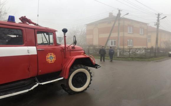 У  Володимирі-Волинському згорів будинок. ФОТО