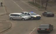 На Волині автівка поліції потрапила в ДТП