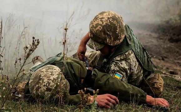 Окупанти вбили українського військового