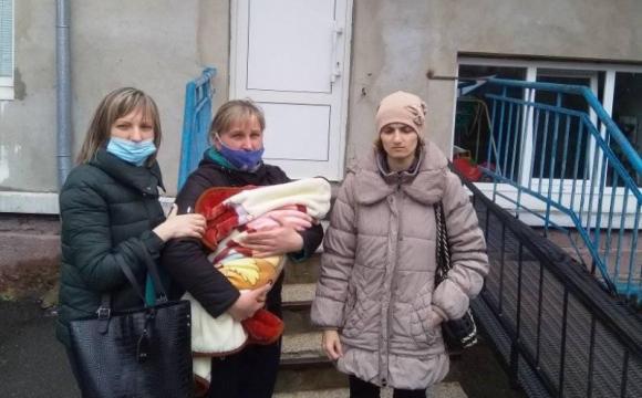 Немовля з Волині прилаштували в спеціалізований будинок дитини