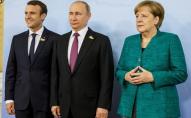Без Зеленського: Меркель, Макрон і Путін обговорили питання Донбасу
