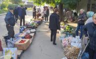 У Луцьку біля автостанції розігнали стихійну торгівлю. ФОТО
