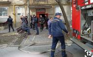 У Луцьку знову евакуювали жителів будинку: пожежа на Гулака-Артемовського. ФОТО