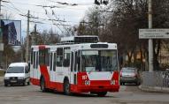 У Луцьку випустили на маршрут перший брендований тролейбус. ФОТО