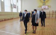 Учні з Волині першими привітали Зеленського зі святами. ФОТО
