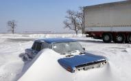 ДСНС: через негоду на дорогах Волині припинять рух автотранспорту
