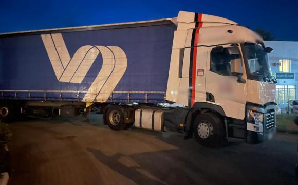 Викрадену у Франції вантажівку виявили у Ягодині