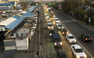 У Луцьку біля «Пасажа» сталася ДТП, аварія спричинила величезні затори. ФОТО