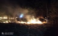 На Волині за добу ліквідували дві пожежі сухої трави