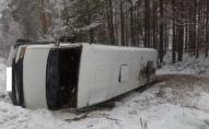 Перекинувся пасажирський мікроавтобус: постраждали дві пасажирки.