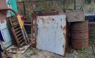 Здав на металобрухт: на Волині затримали чоловіка, який вкрав металеві ворота