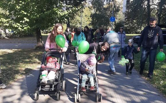 У Луцьку відбулася акція на підтримку хворих на ДЦП діток