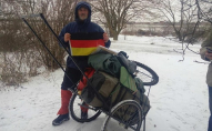 Український мандрівник пройшов пішки 1180 км
