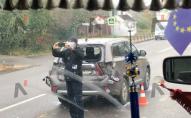 У Луцьку військова вантажівка потрапила у ДТП. ВІДЕО