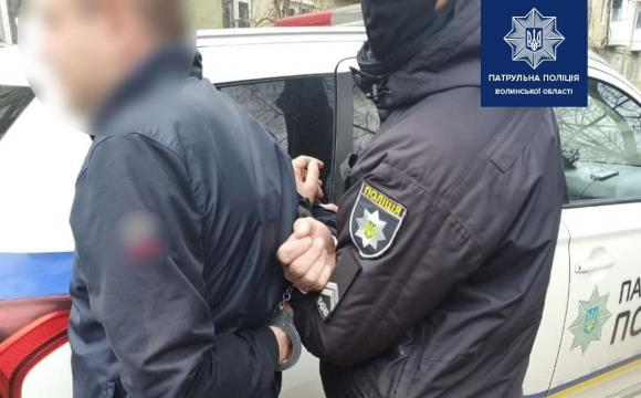 У Луцьку водій «без прав» спробував підкупити патpульних