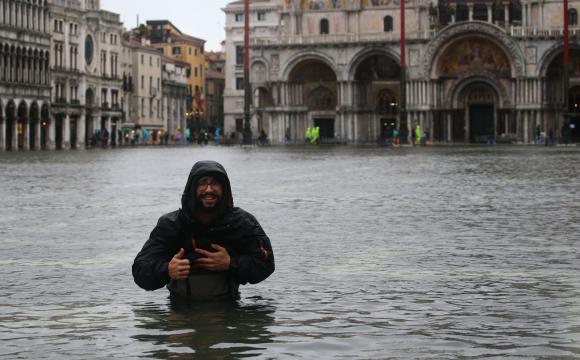 Венеція пішла під воду через помилку в прогнозі погоди. ФОТО