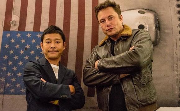 Японський мільярдер шукає 8 добровольців для польоту на Місяць