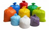 Лучанам будуть роздавати різнокольорові пакети для сміття