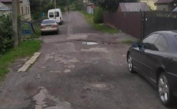 У Луцьку невідомі встановили небезпечні обмежувачі руху. ФОТО