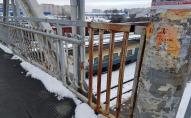 У Луцьку відремонтують пішохідний міст, що веде до залізничного вокзалу