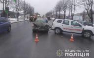 У Тернополі в аварію потрапив автомобіль з COVID-вакциною. ФОТО