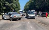 Виїхав на зустрічну смугу: через ДТП у Ківерцях водіїв госпіталізували. ФОТО