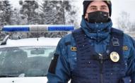 В Луцьку гвардійський автопатруль затримав підозрілого хлопця