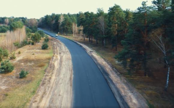 До Шацьких озер проклали нову дорогу
