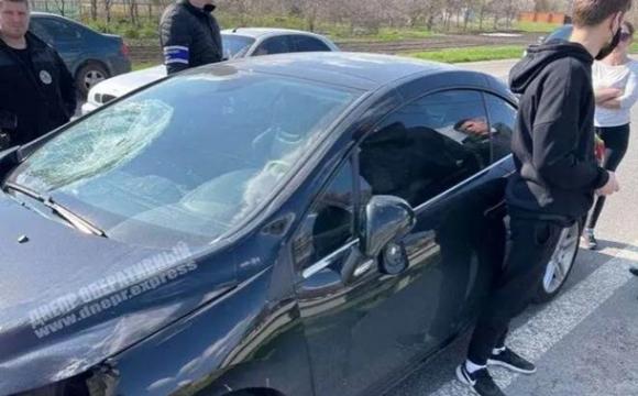 Під Дніпром на пішохідному переході збили двох дітей