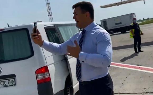 «Блогер» Тищенко, або чому затримали рейс «Київ-Ужгород». ВІДЕО