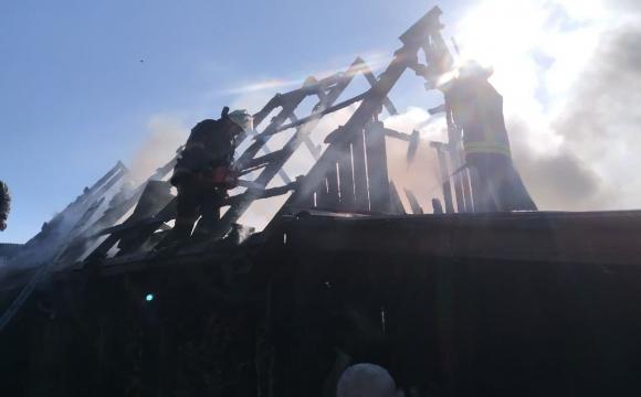 На третій день Великодня горіли три господарські споруди на Ковельщині. ФОТО