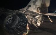 З'явилися фото аварії авто з літаком під Києвом