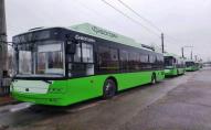 На схід країни поїхали 5 луцьких тролейбусів. ФОТО