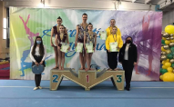 Волинські акробатки привезли з чемпіонату України срібні медалі