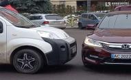 У центрі Луцька – аварія: рух ускладнений. ФОТО, ВІДЕО
