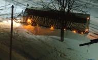 У Володимирі-Волинському автівка зіштовхнулась з пасажирським автобусом. ФОТО. ВІДЕО