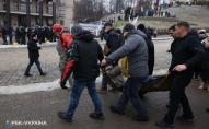 Протест ФОПів у Києві: є перші постраждалі. ФОТО