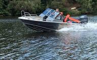 На річці моторний човен відірвав руку 40-річному чоловікові