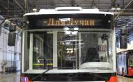 З USB-портами, WI-FI та кондиціонерами: Луцьк отримав ще 4 нових сучасних тролейбуси. ФОТО