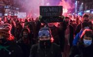 По всій Польщі знову масові протести проти заборони абортів