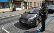 У Луцьку оштрафували водіїв за несплату парковки